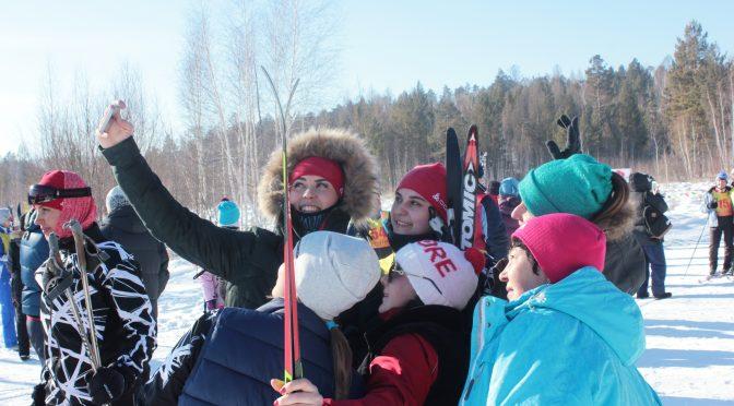 Фото с лыжных соревнований АНХК